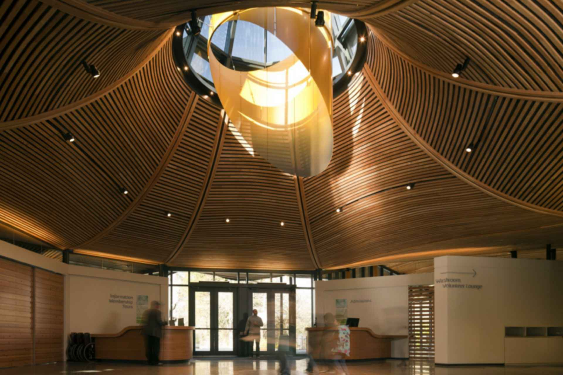 VanDusen Botanical Garden Visitor Centre - Interior