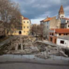 Petar Zoranic Square and Sime Budinic Plaza