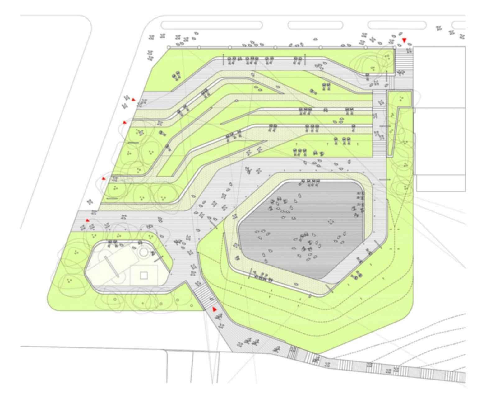 San Martin de la Mar Square - floor plan