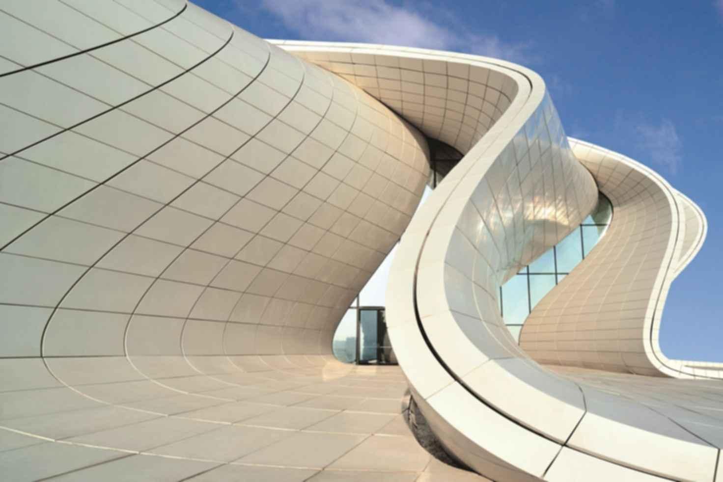 Heydar Aliyev Center - Exterior