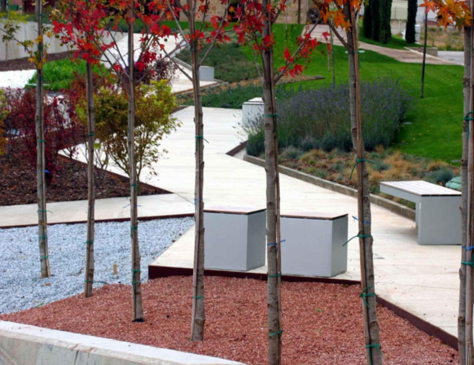 Wurth La Rioja Museum Gardens - exterior