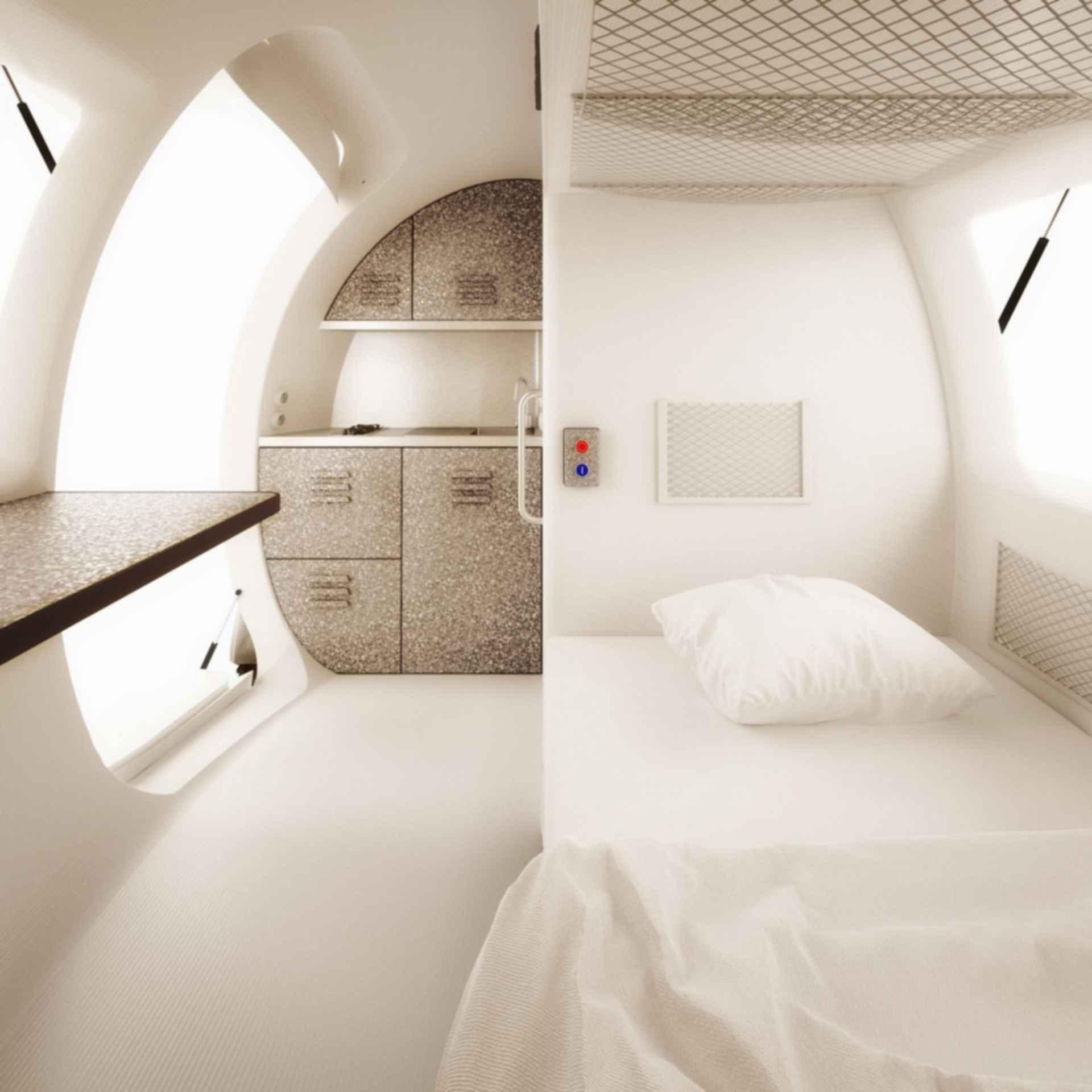 Ecocapsule - interior