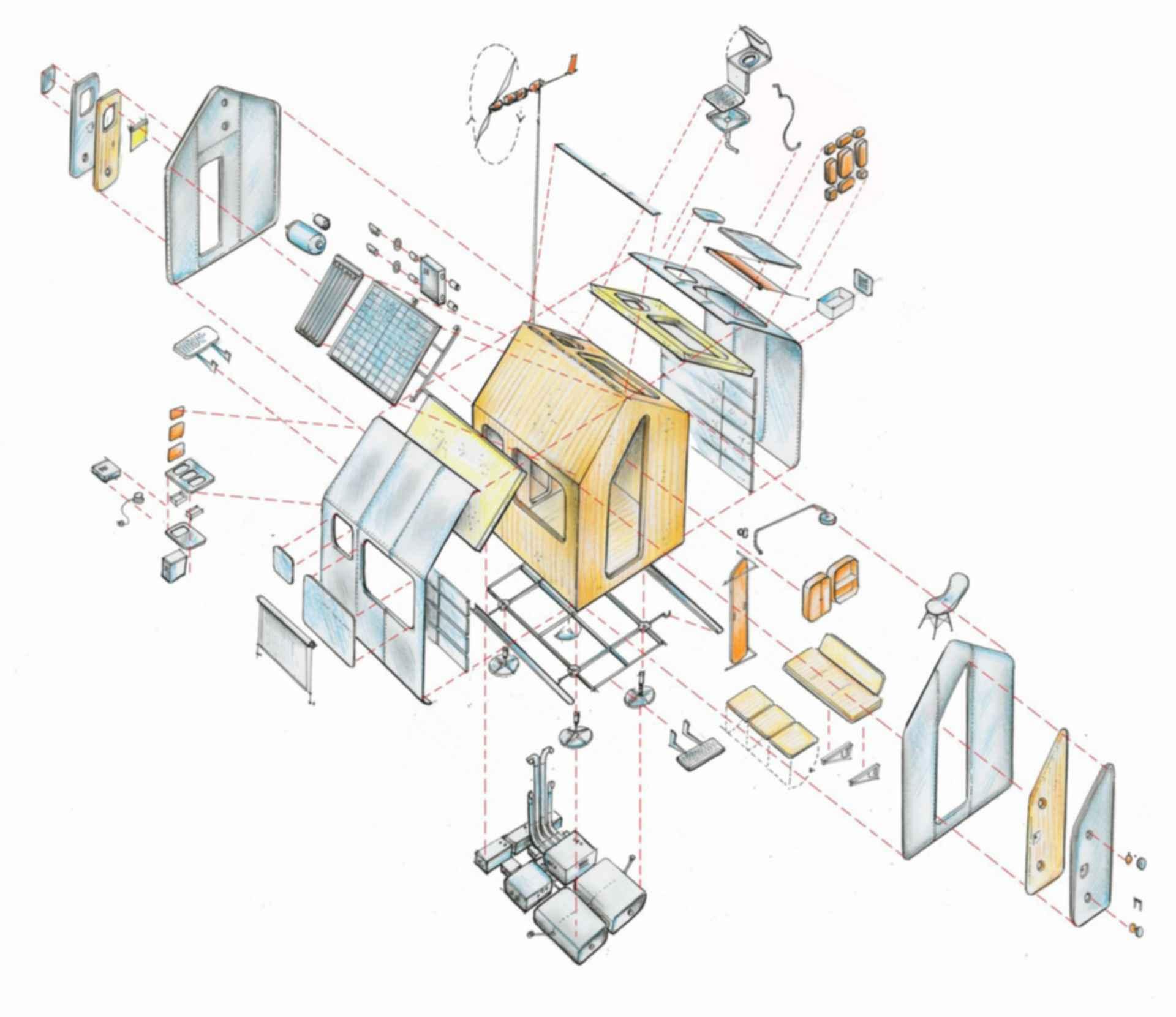 Diogene - Floor plan
