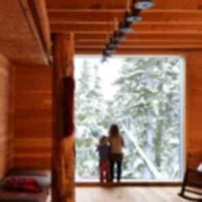 Alpine Cabin - interior