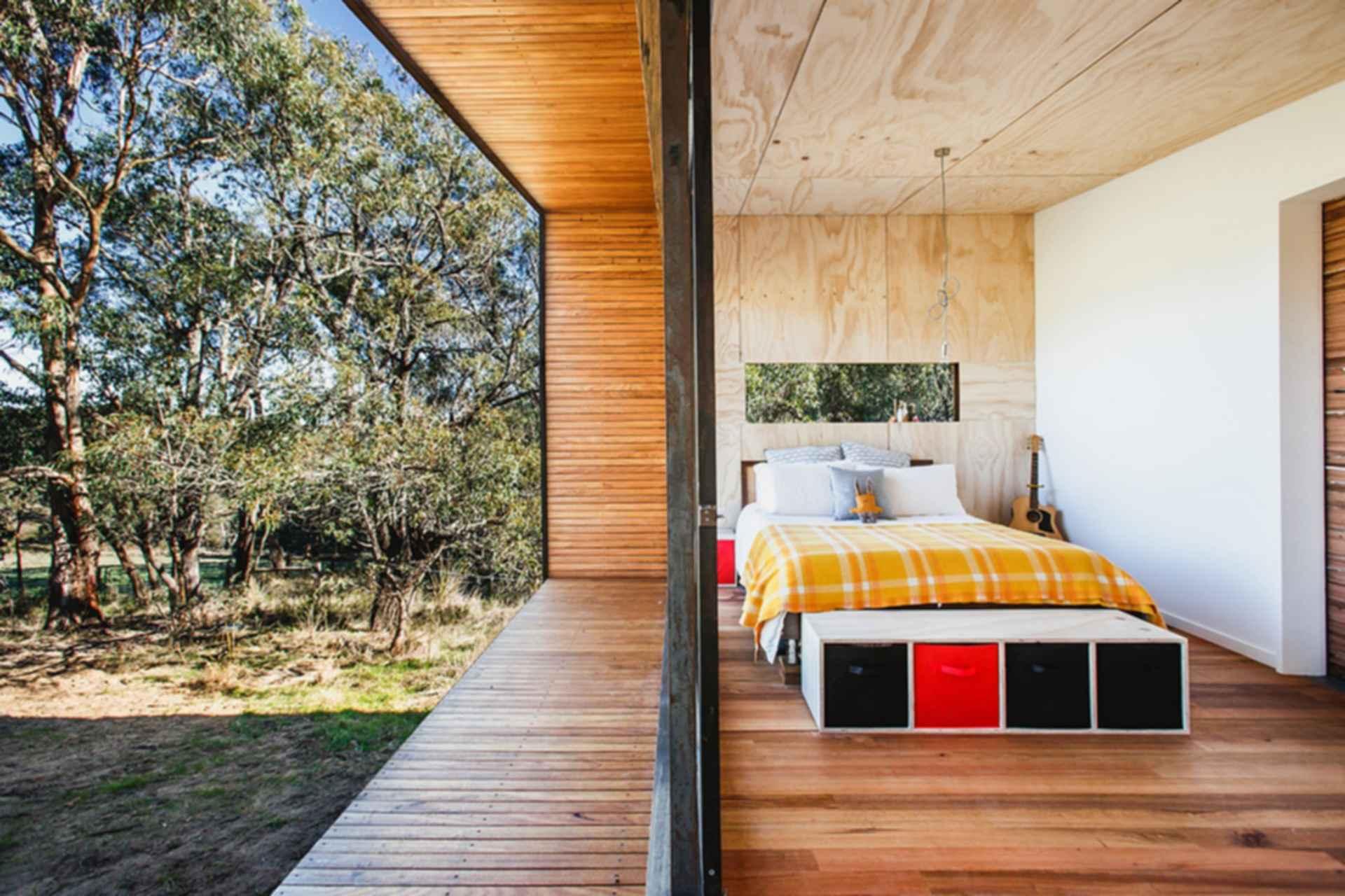 Pump House - interior/bedroom