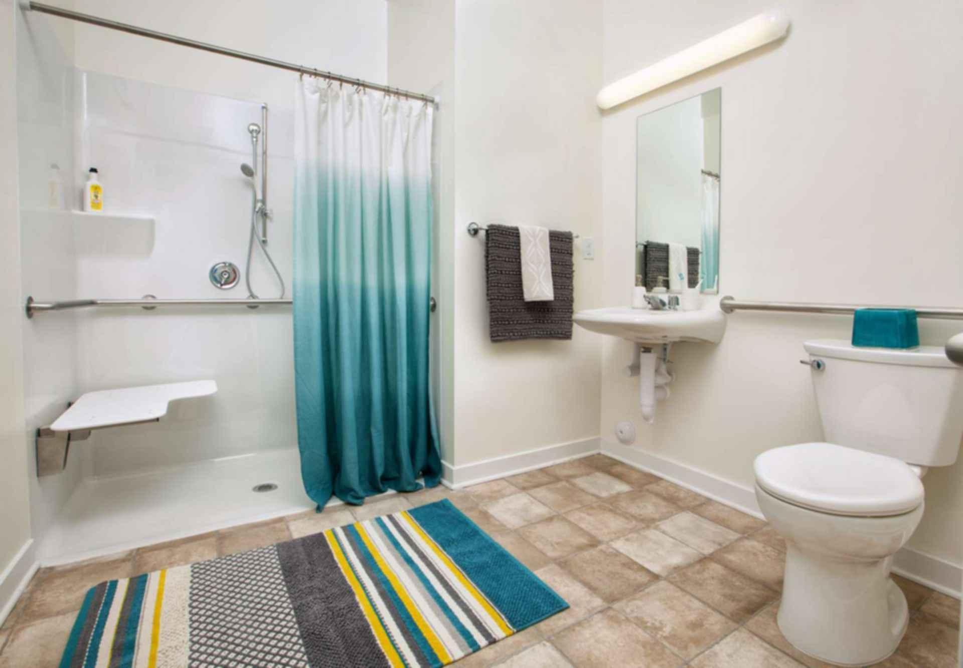 Somanath Seniors Apartments - Net Zero Living - interior/bathroom