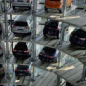 Volkswagen Parking Towers - interior