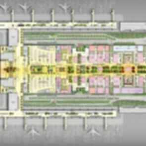 Taoyuan International Airport Terminal Proposal - concept design
