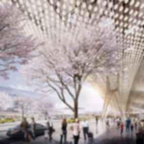 Taoyuan International Airport Terminal Proposal - Awarded - Concept design