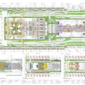 Taoyuan International Airport Terminal Proposal - Awarded - Concept design - floor plan