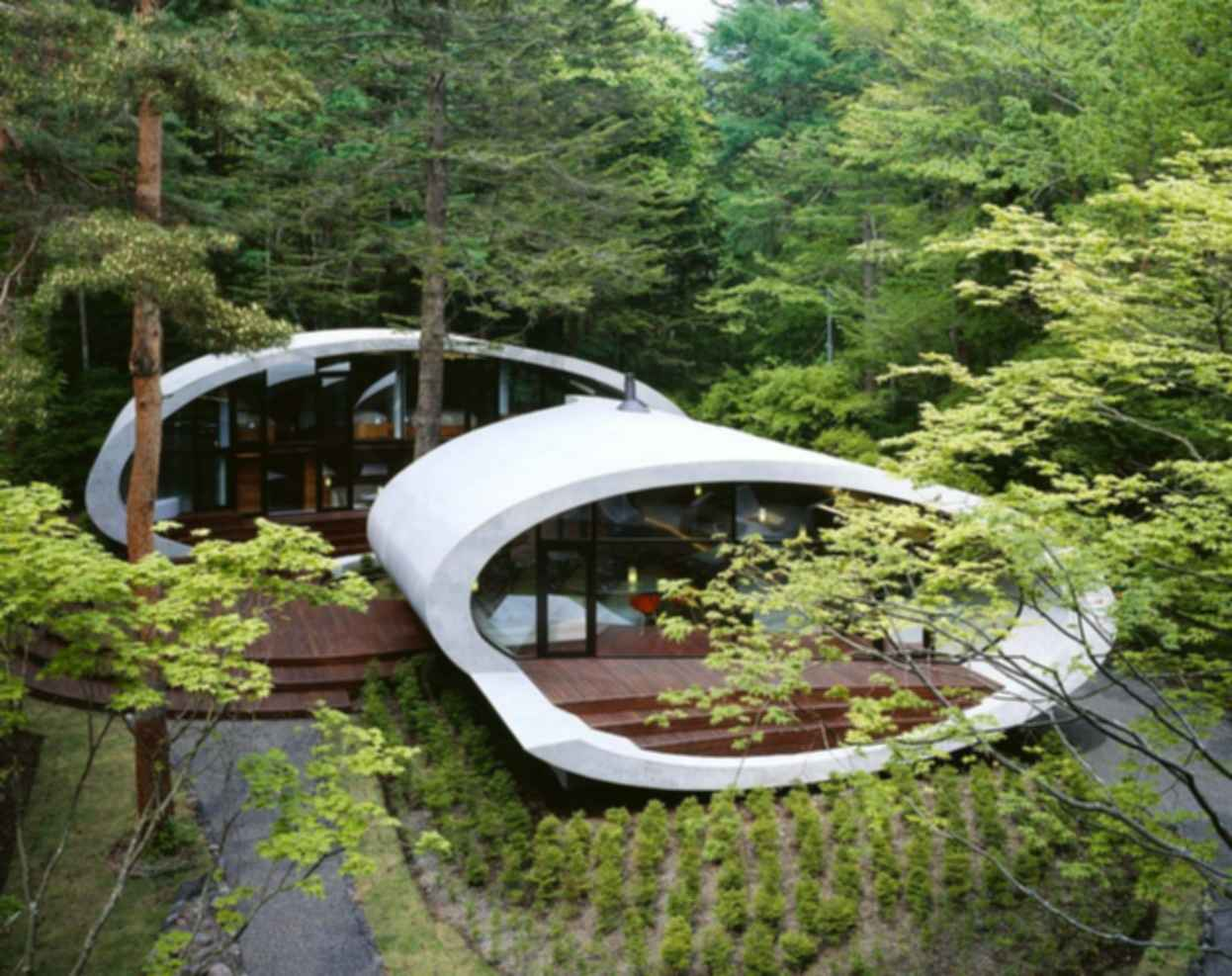 Shell House - Exterior
