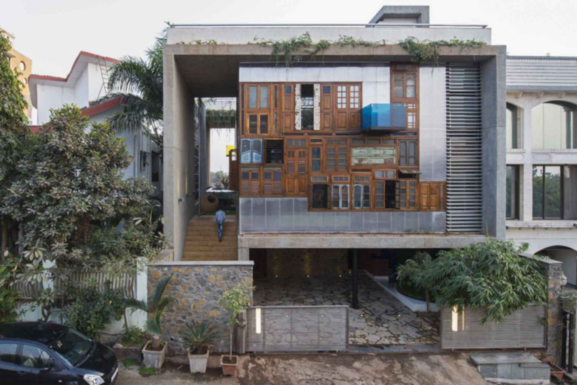 Collage House - exterior