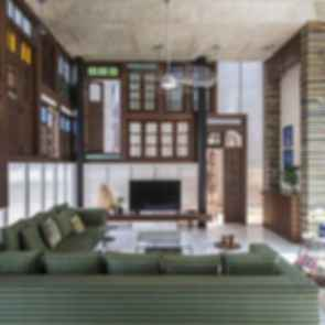 Collage House - Lounge