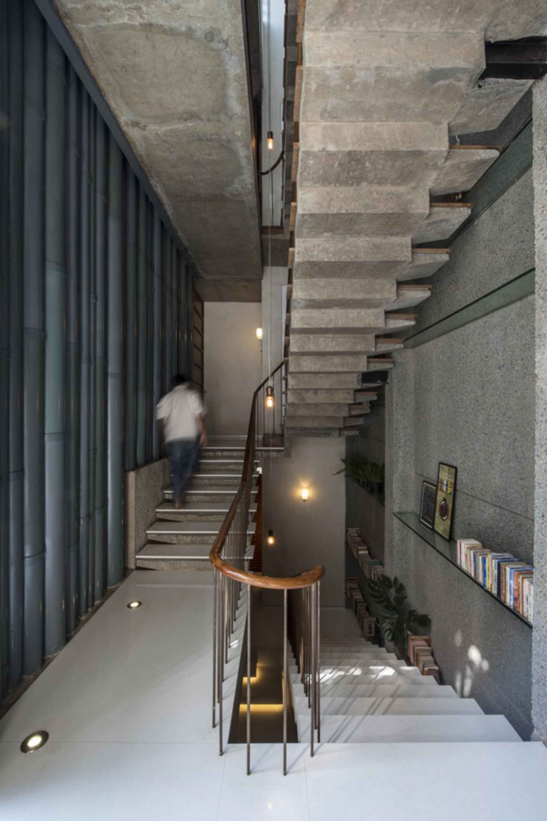 Collage House - stairs