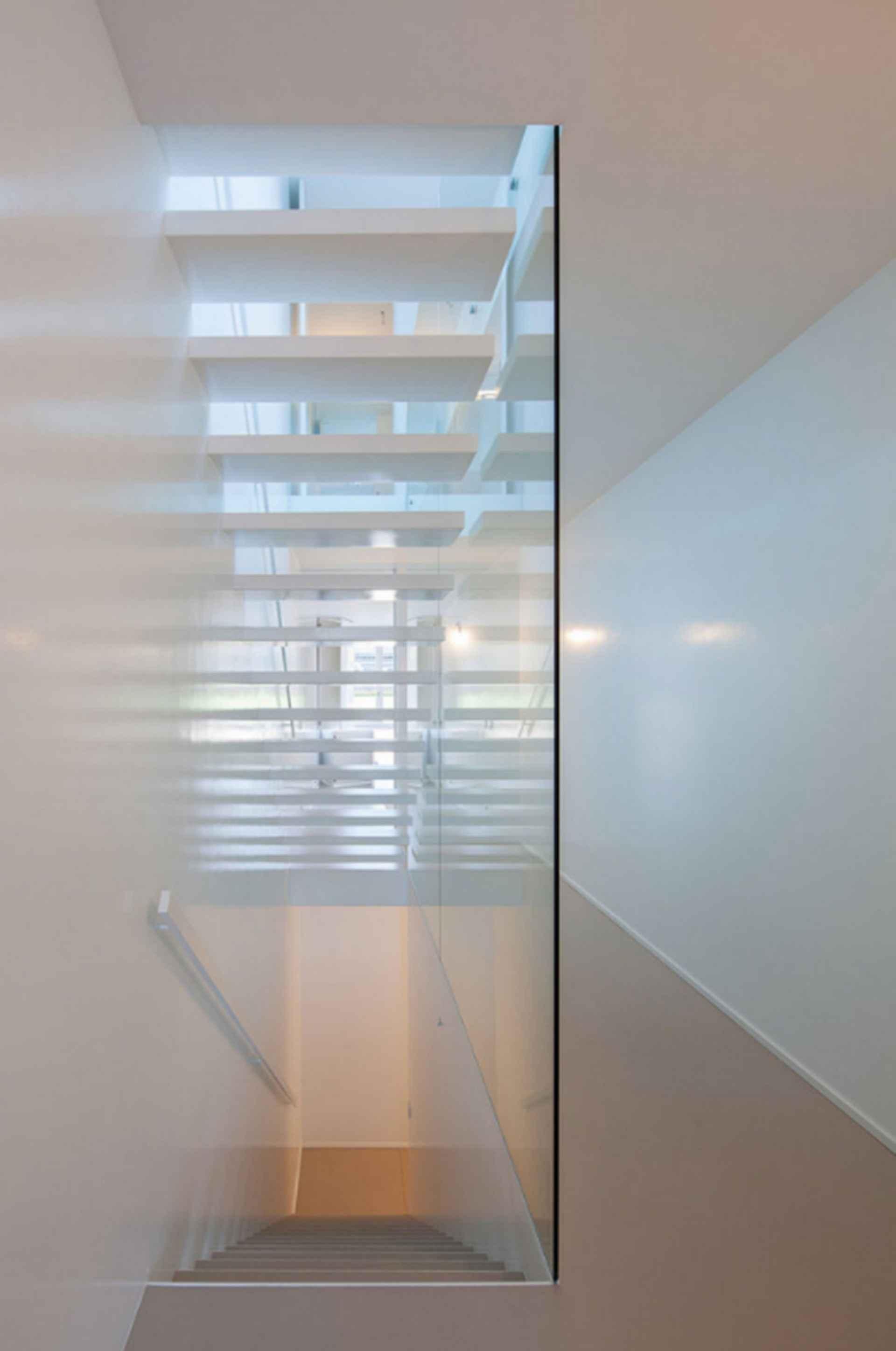 Urban House - interior/stairwell