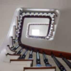 Carroll Gardens Townhouse - stairwell