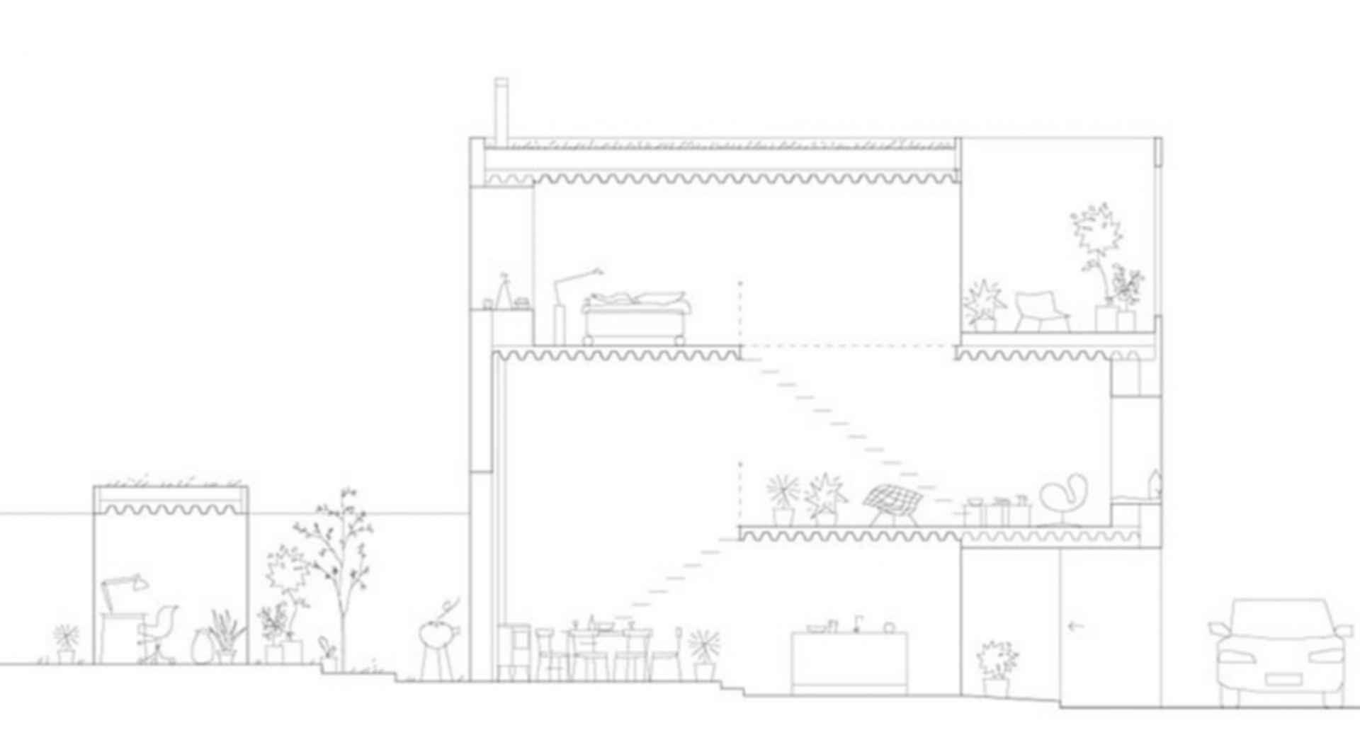 Townhouse - floor plan