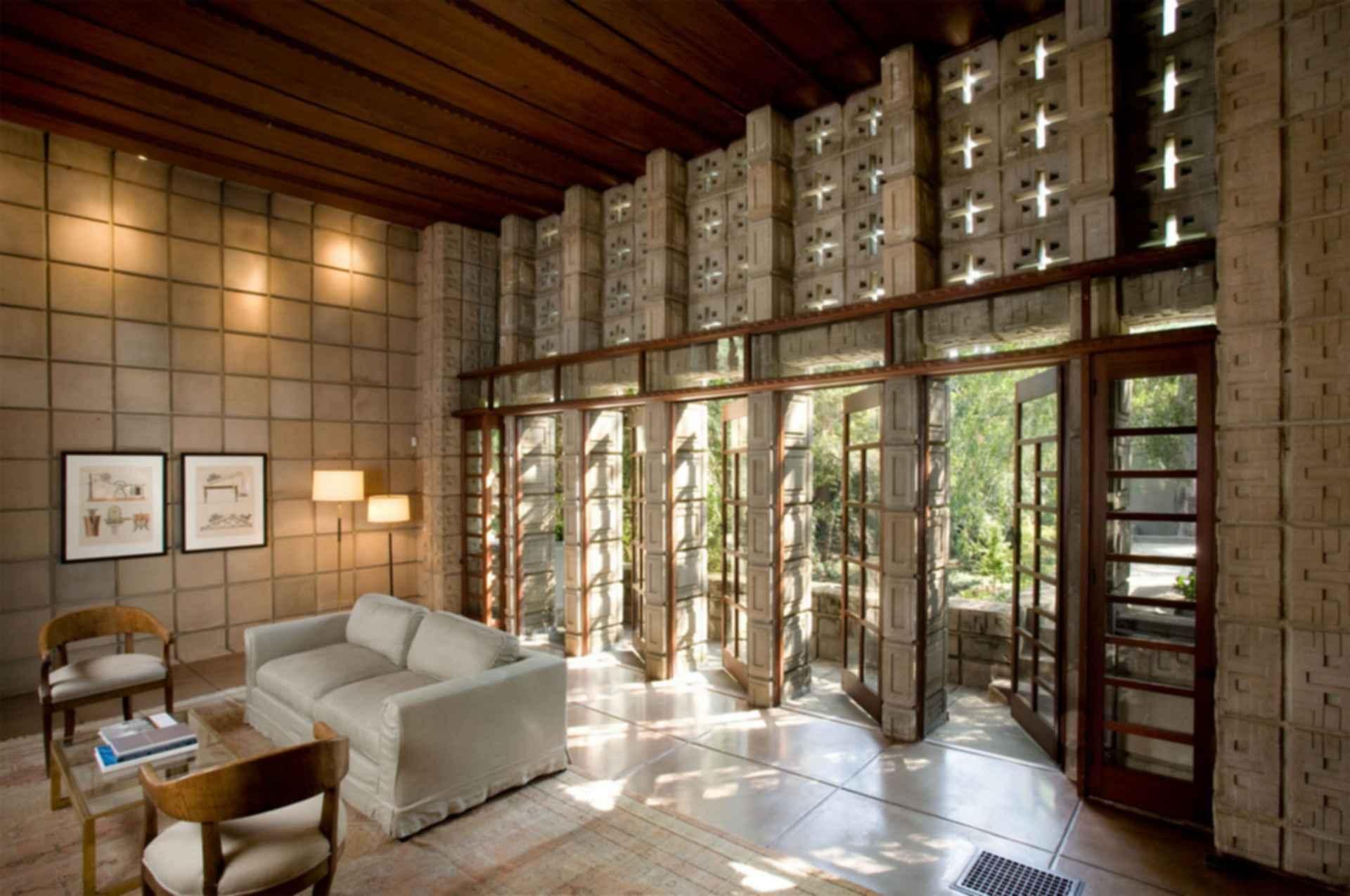 Ennis House - Interior
