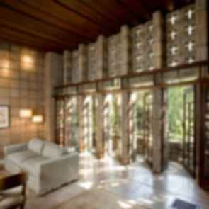 Ennis House - Interior