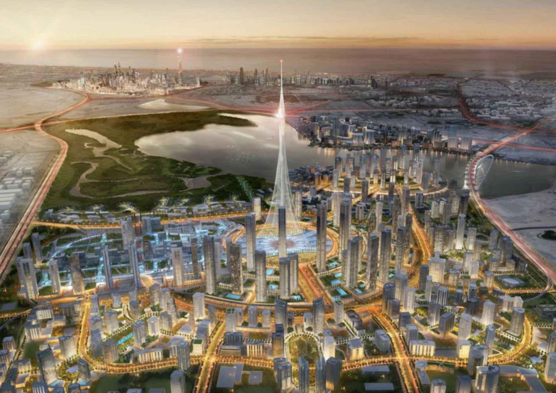 The Tower at Dubai Creek - Concept design