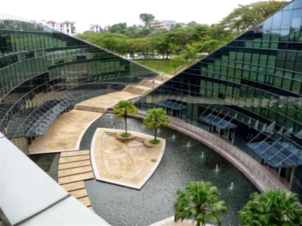 Nanyang Technological University (NTU) School of Art, Design and Media (ADM) - Exterior