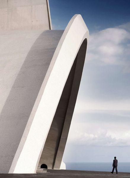 Tenerife S Auditorium Concept Design Modlar Com