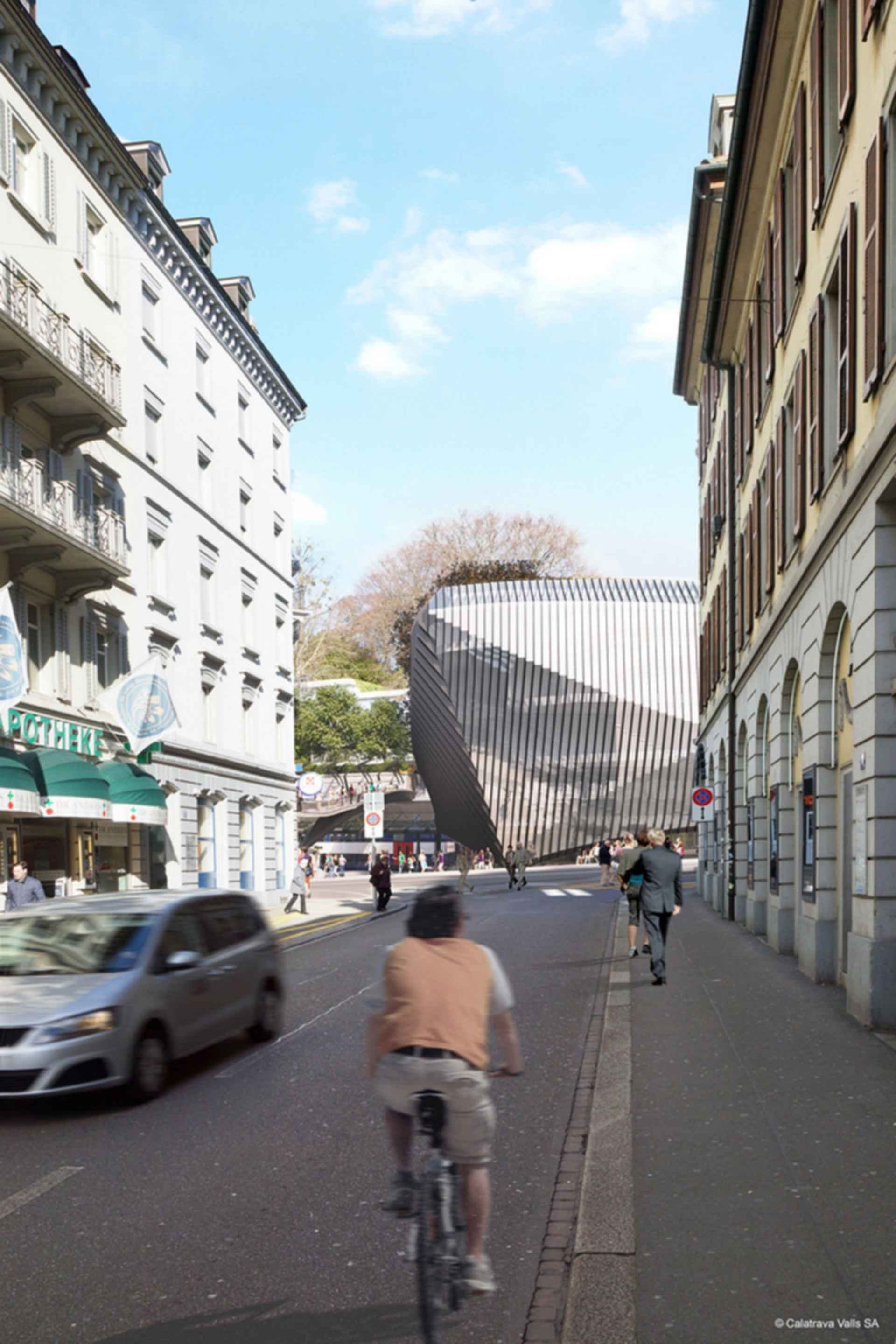 Zurich Office Block - concept design