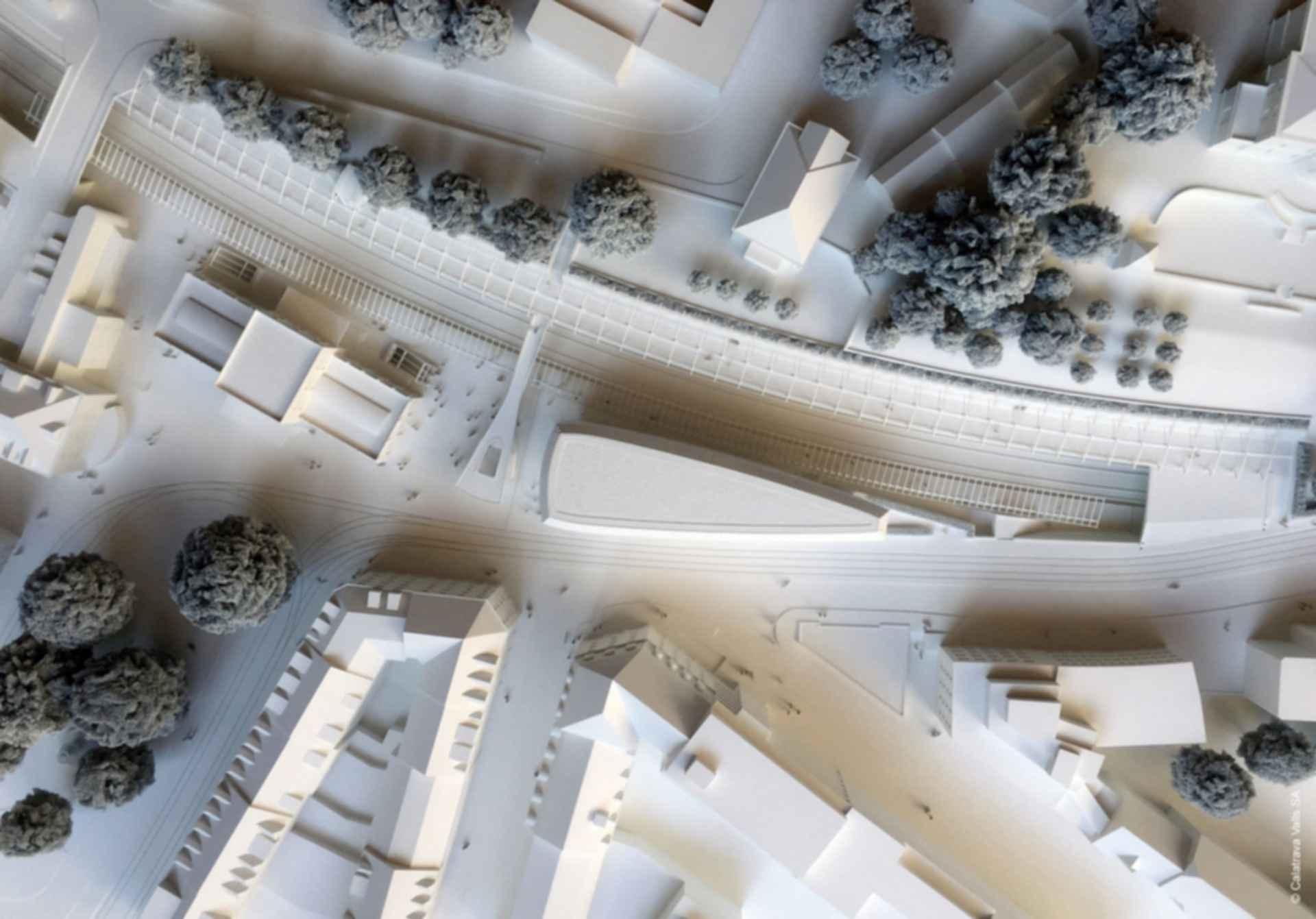 Zurich Office Block - concept design