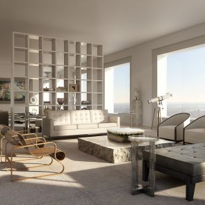 432 Park Avenue - interior/lounge