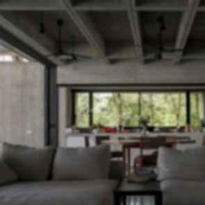Box House - interior/lounge