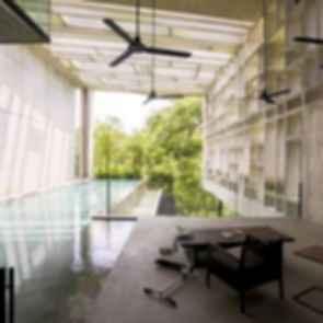 Box House - interior