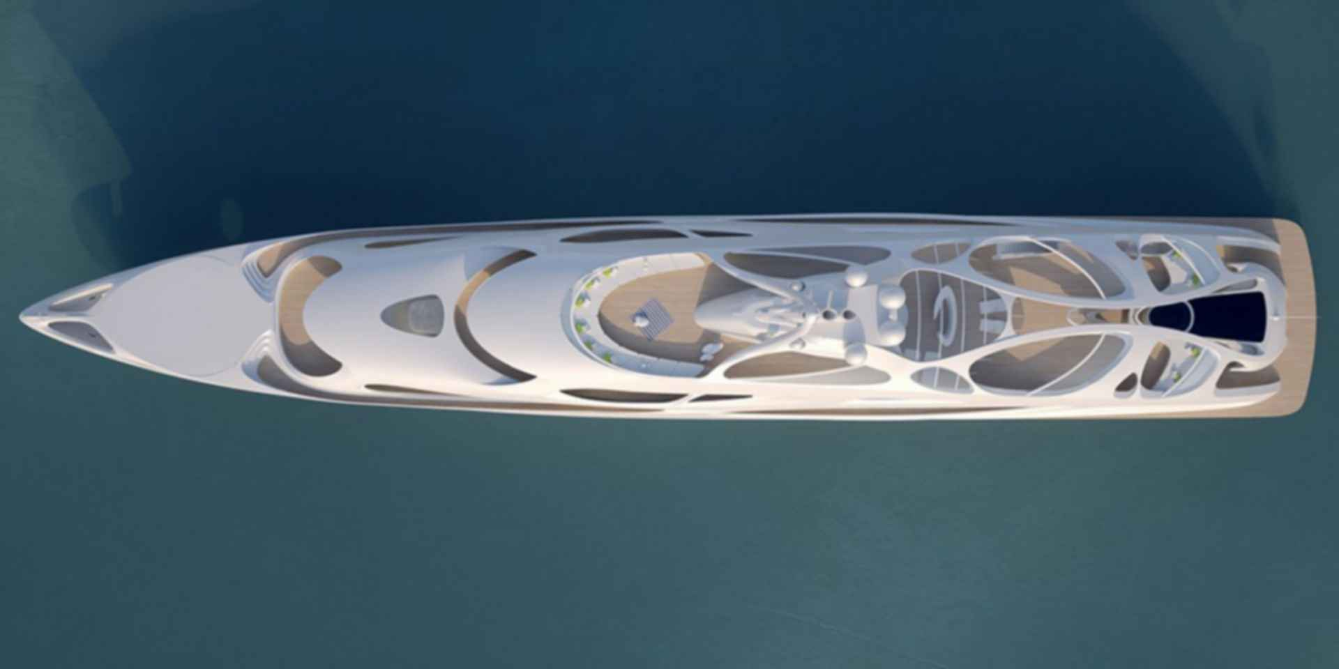 Unique Circle Yachts - concept design