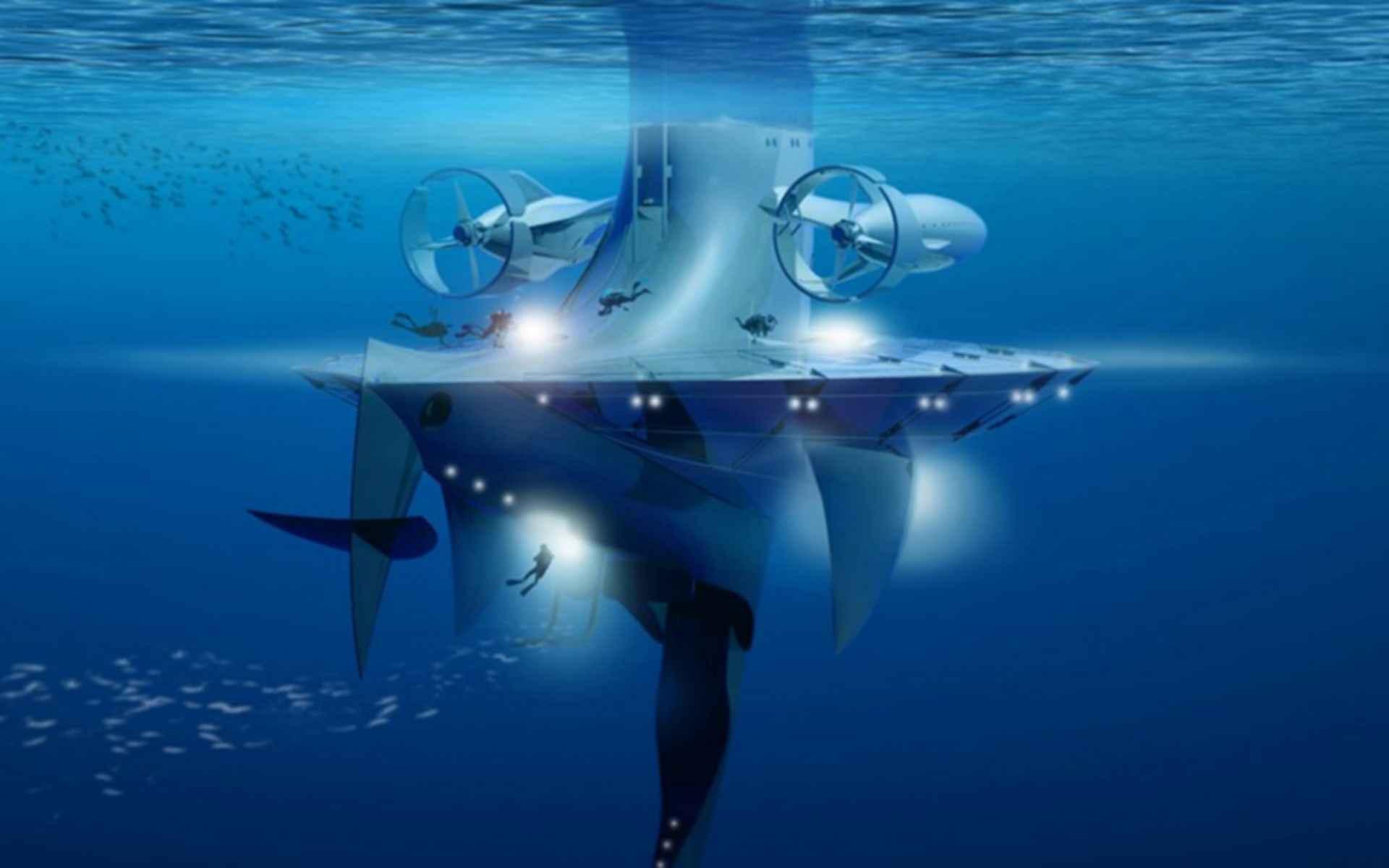 Seaorbiter Vessel - concept design