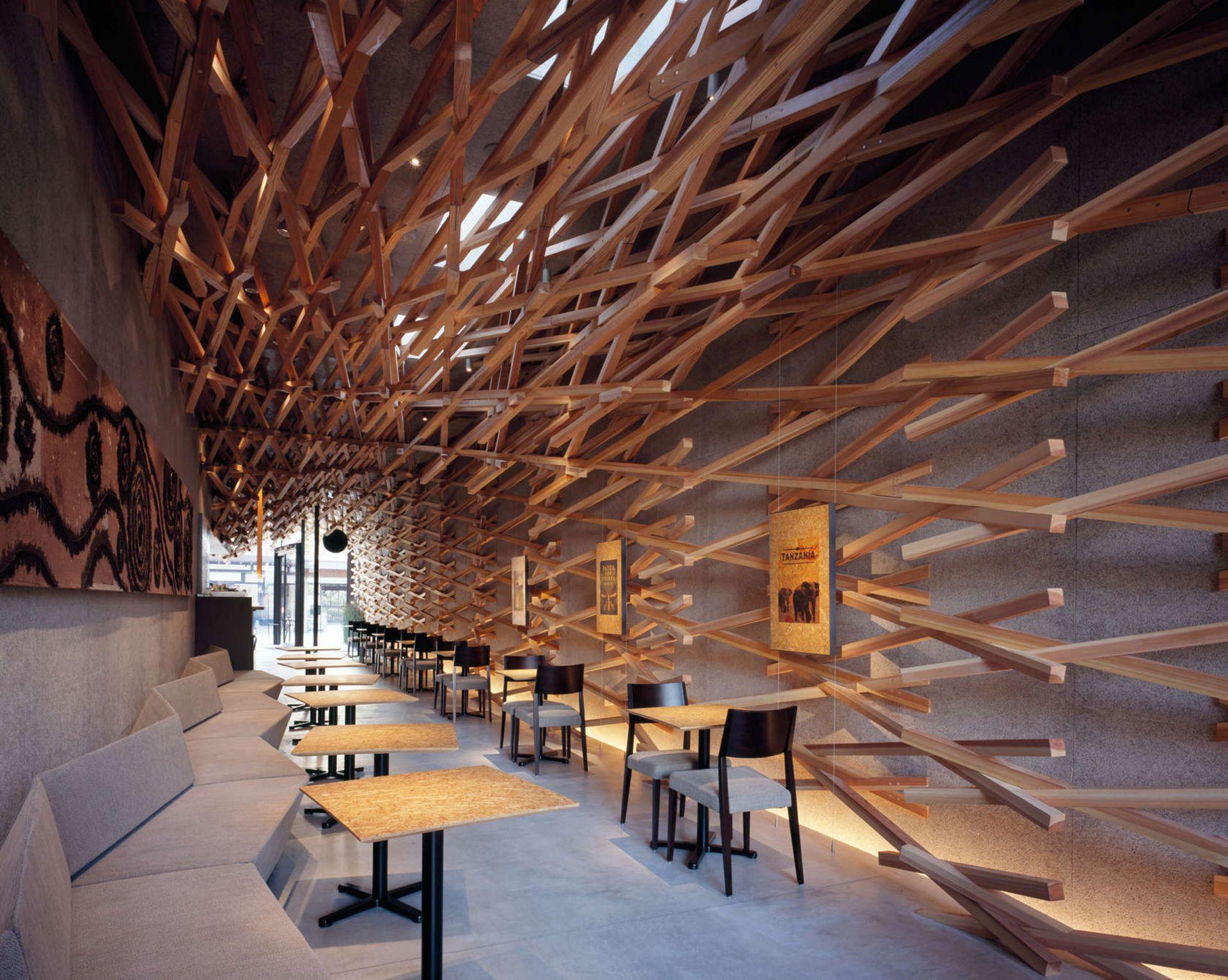 Fukuoka Starbucks   Interior
