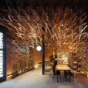 Fukuoka Starbucks - Interior