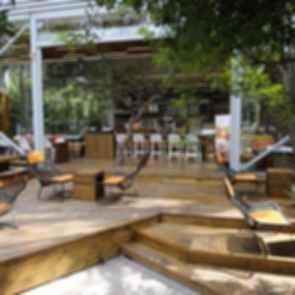 Mexico City Starbucks - Outdoor Seating Area