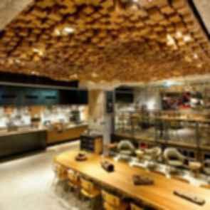 Amsterdam Starbucks - Cafe Interior