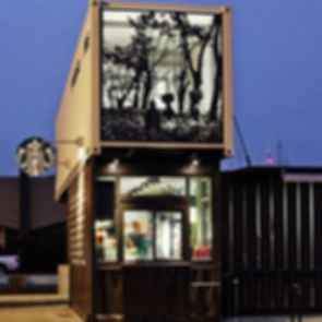 Starbucks Drive Through - Exterior