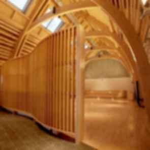 Aanischaakamikw (Cultural Cree Institute) - interior
