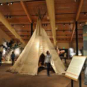 Southern Ute Cultural Center - Interior/Exhibits