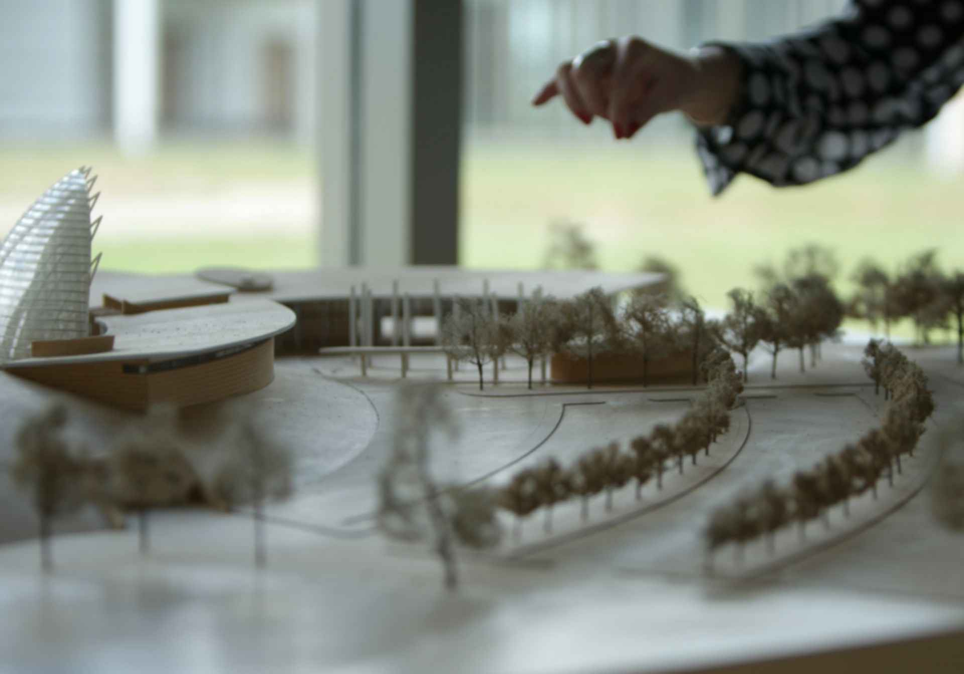 American Indian Cultural Center and Museum Zone - Concept Modelling