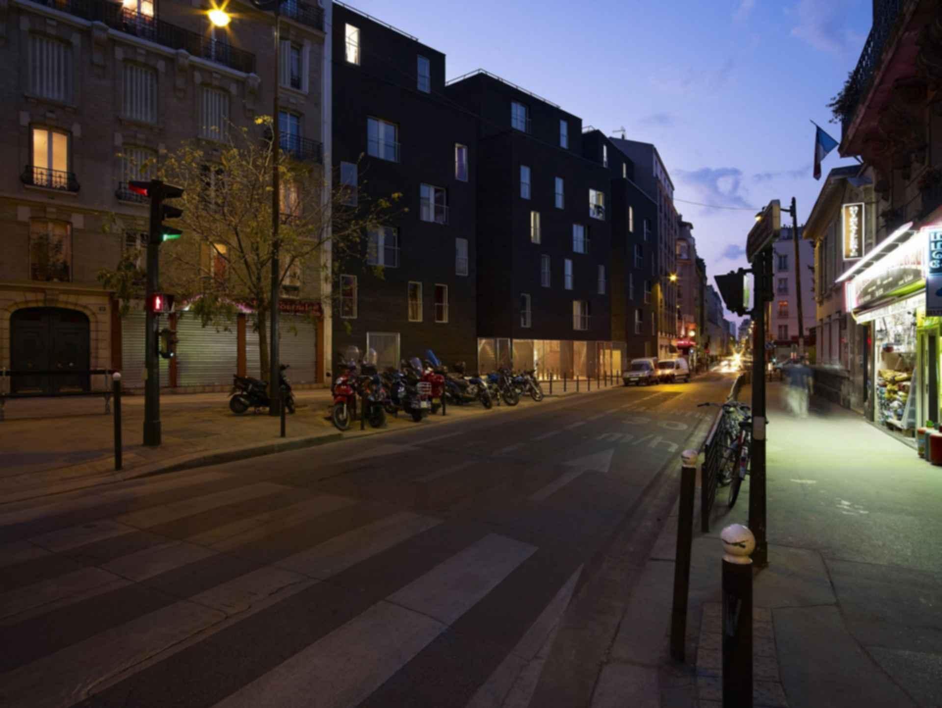 Student Residences in Paris - Exterior