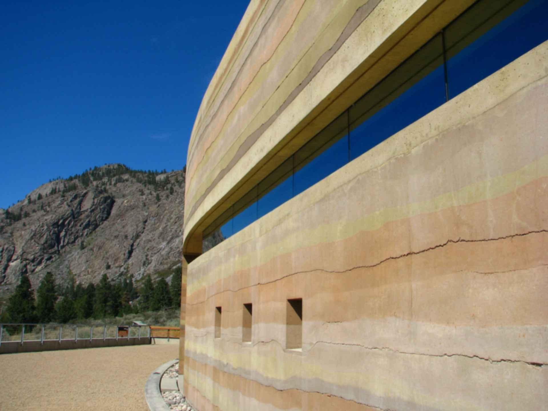 Nk'Mip Desert Cultural Centre - Exterior