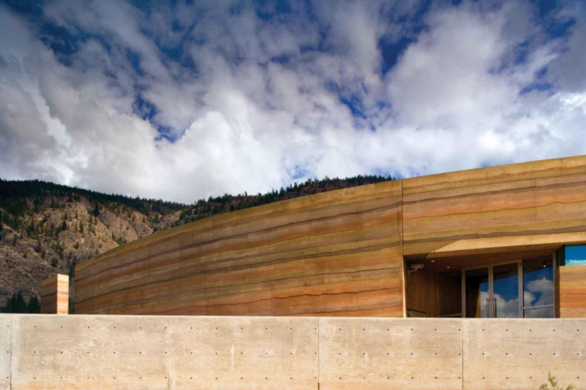 Nk'Mip Desert Cultural Centre - Exterior/Walls
