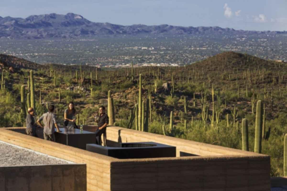 Tuscon Mountain Retreat - Outdoor Area