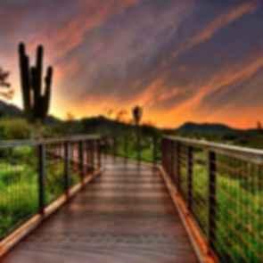 Gateway to the McDowell Sonoran Preserve - Walkway