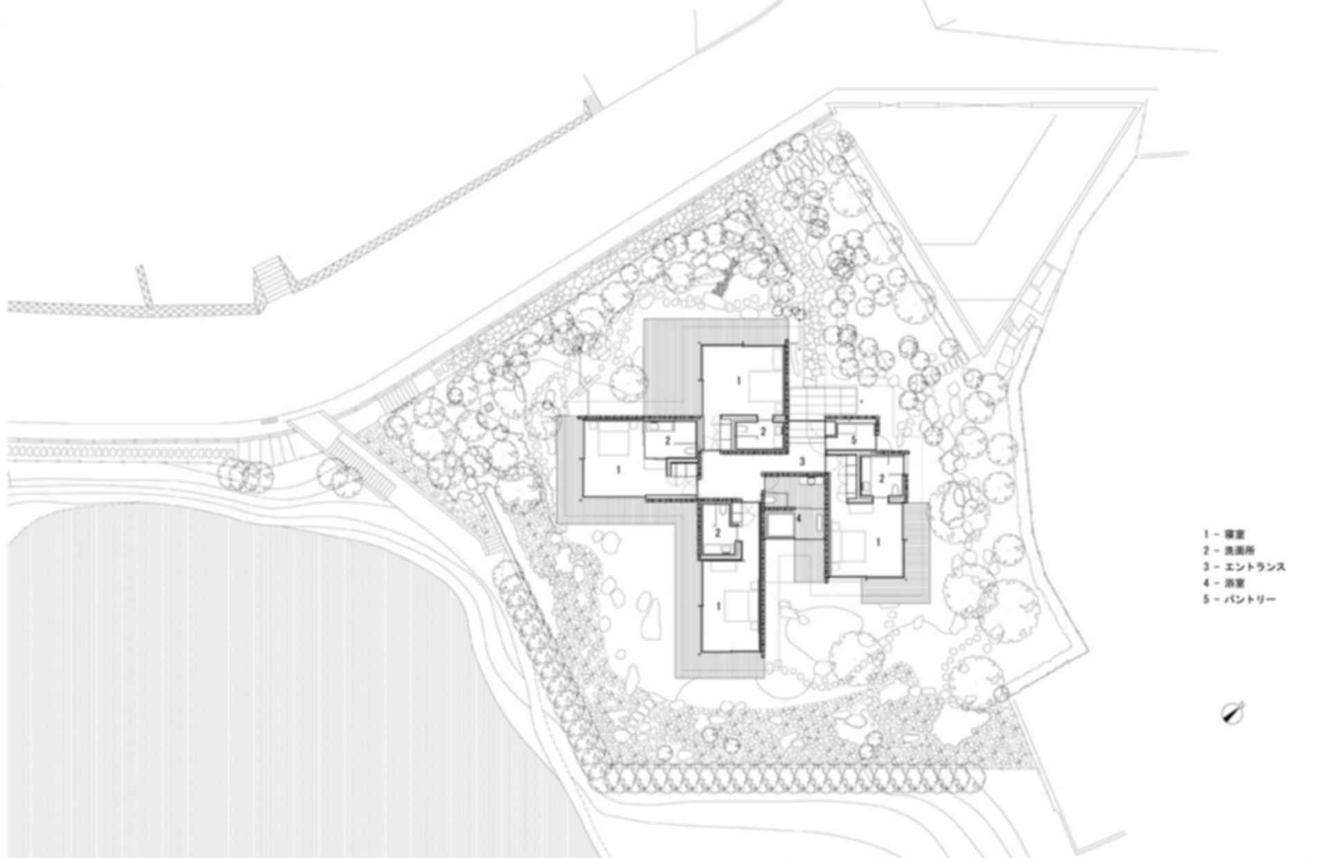 PC House - Site Plan