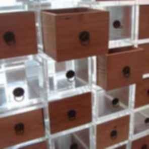 Opposite House Hotel - Interior/Storage Boxes