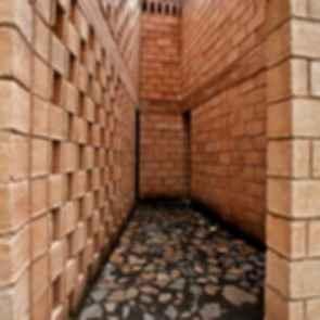 Pilgrim Route Shelter - Interior