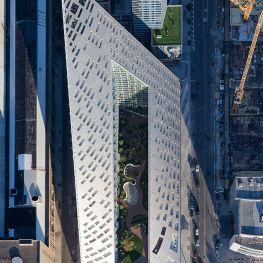Via West 57th - Bird's Eye View